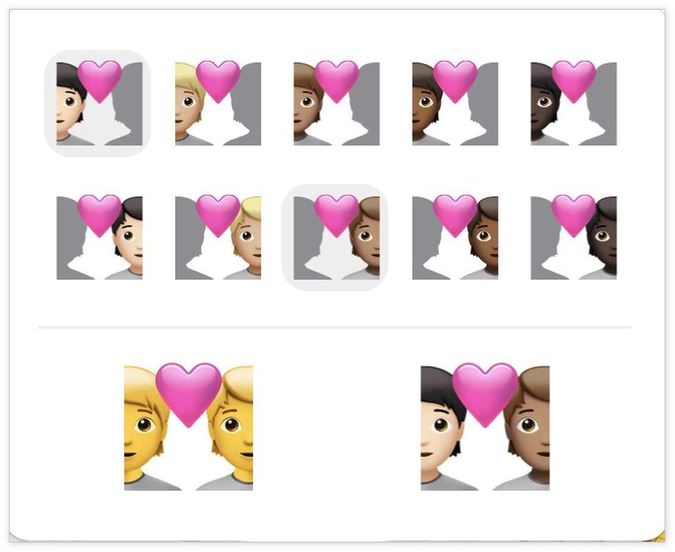 [图] iOS 14.5带来了这些全新表情符号