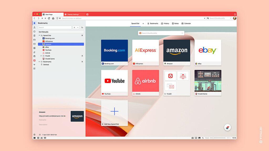 Vivaldi 3.8发布:支持拦截Cookie 提示和禁用FLoC