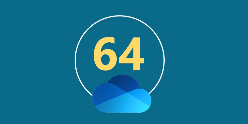 微软OneDrive发布64位版(附下载)