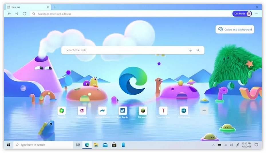 "Edge浏览器推出""儿童模式"":安全无忧地上网"