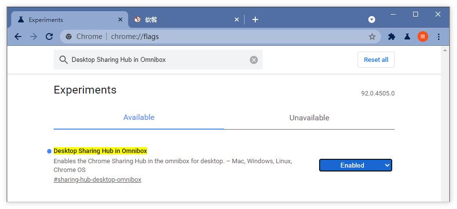 谷歌在Chrome地址栏添加新菜单:快捷复制链接和二维码