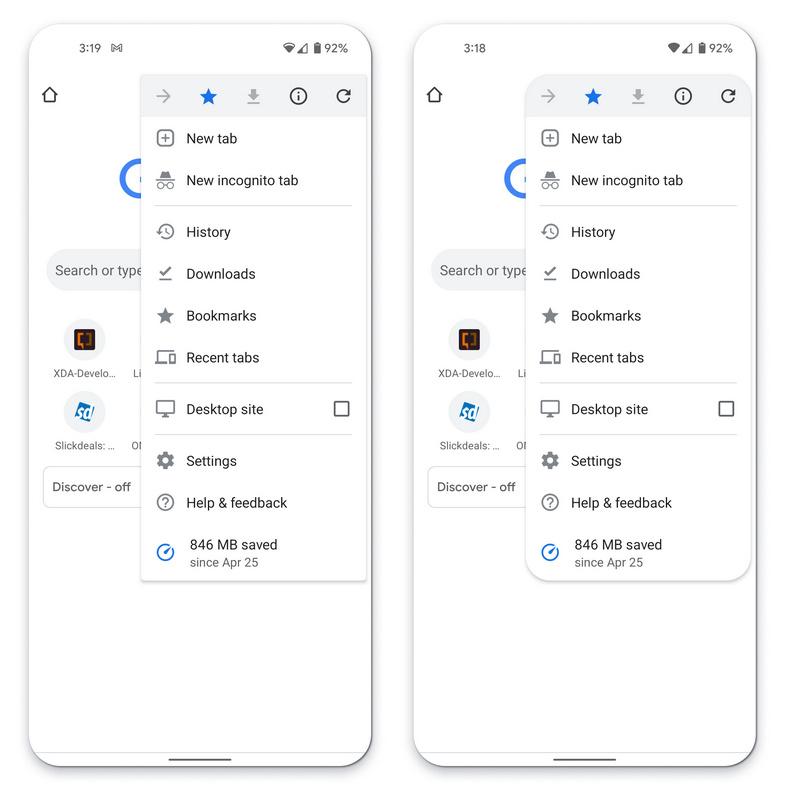 谷歌发布全新设计语言Material You,Chrome圆角菜单来了(开启方法)