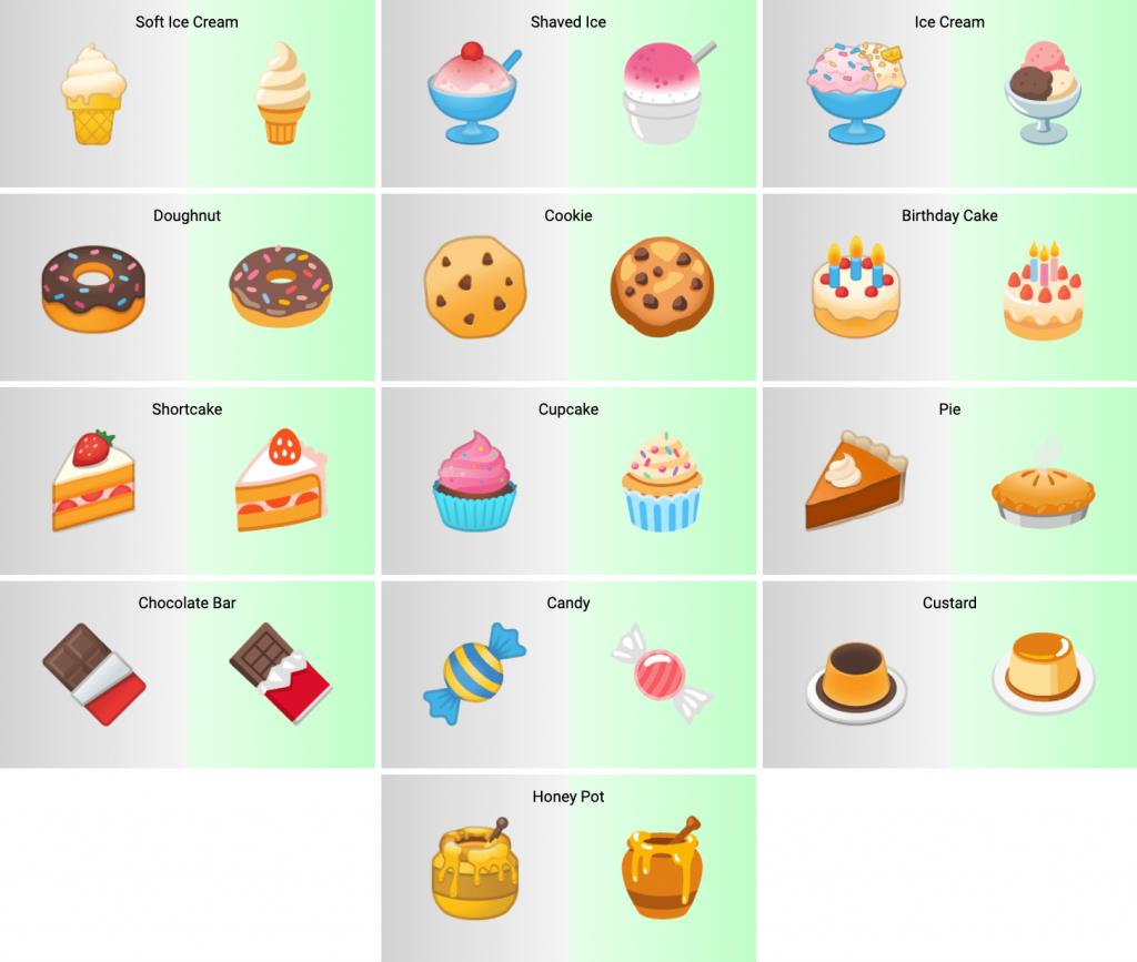 [图] 谷歌更新Android 12数百个Emoji表情符号