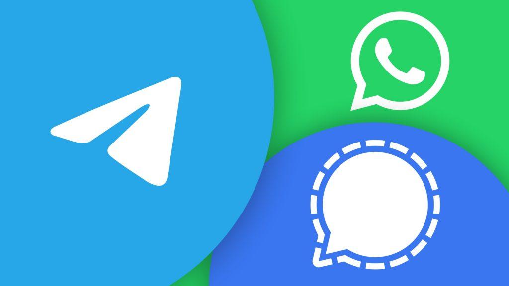 Signal和Telegram用户量大涨:WhatsApp隐私条款事件的受益者