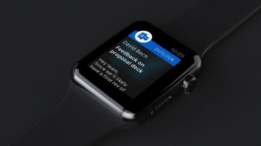 现在,Apple Watch用户可通过听写回复Outlook邮件了