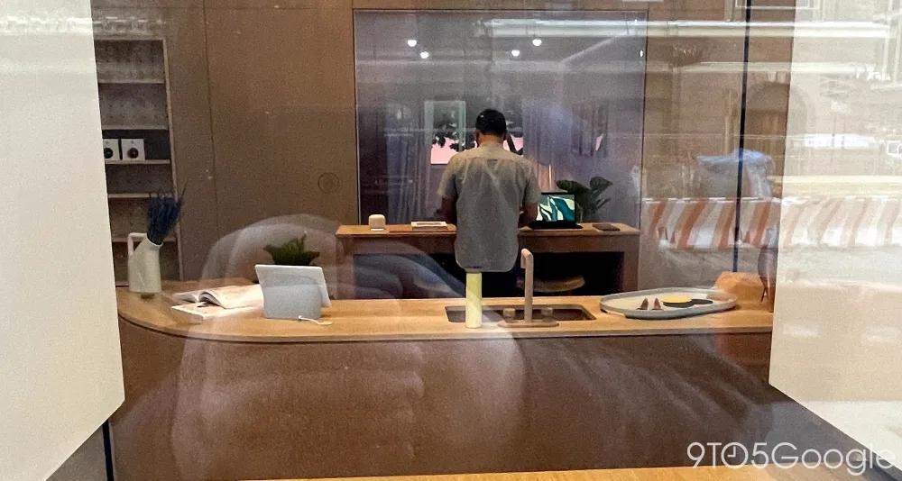 谷歌首家线下零售店实景曝光,一站式体验谷歌硬件产品