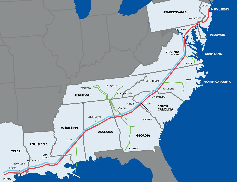 美国宣布进入紧急状态:最大燃油管道企业Colonial Pipelineе遭勒索软件攻击