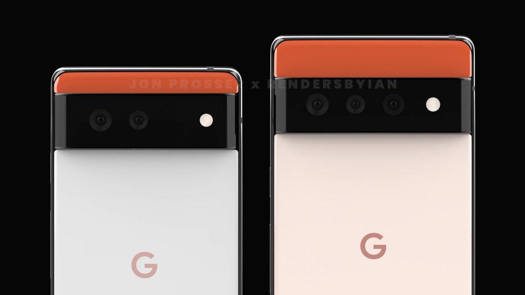 谷歌新机Pixel 6和Pixel 6 Pro照片曝光,或搭载全新处理器