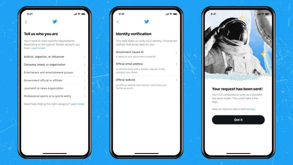 推特宣布开放蓝V认证服务,认证通过将获蓝V徽章
