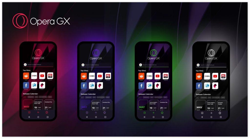 Opera GX游戏浏览器发布安卓/iOS Beta版