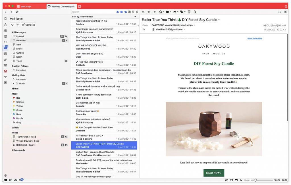 Vivaldi 4.0来了!包括翻译、日历、邮件和RSS阅读器的重大版本