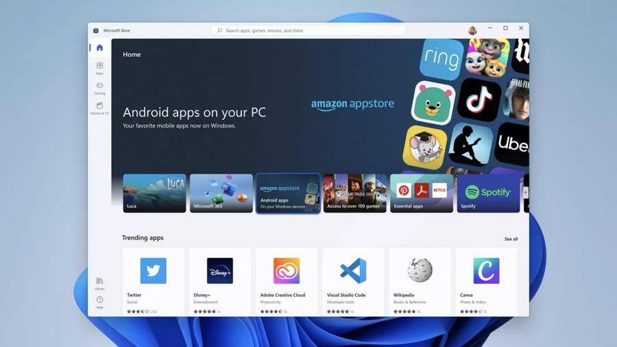 Windows 11可侧载APK安装包,这次微软商店能被扶起来吗?