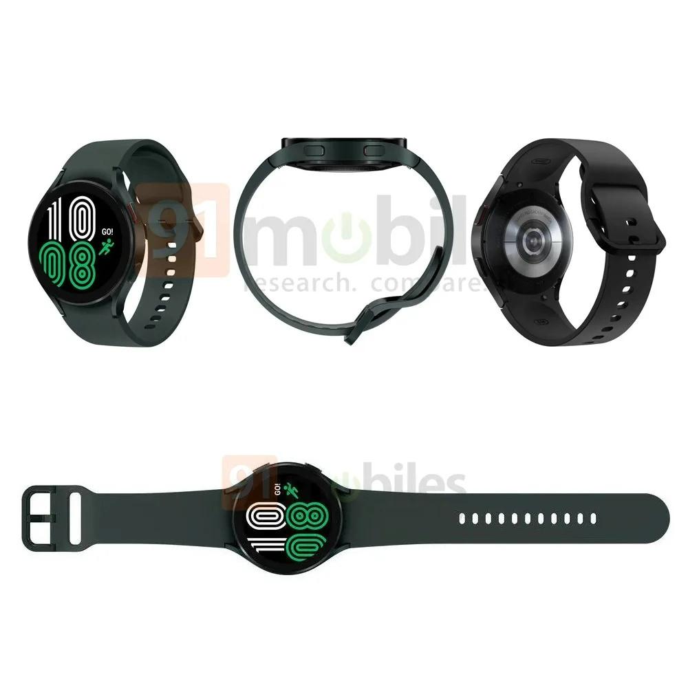 Galaxy Watch 4 Classic渲染图曝光:提供42/44/46mm三种尺寸