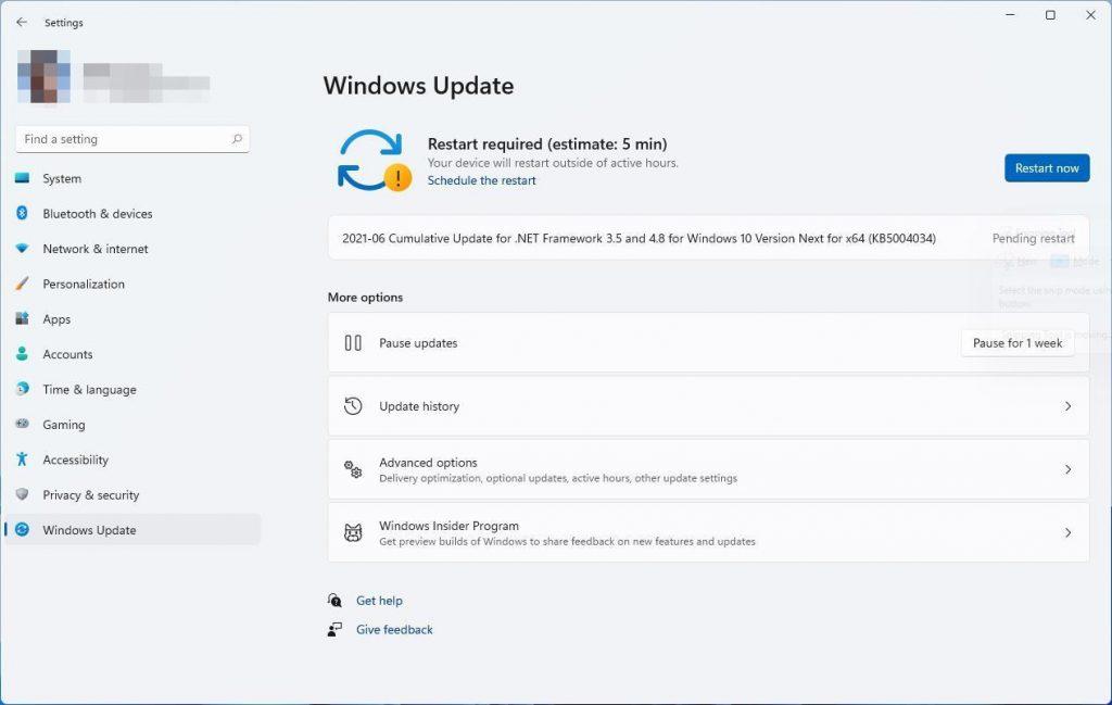 文件传输指示器、更新完成时间…Windows 11在多处细节上提供新体验