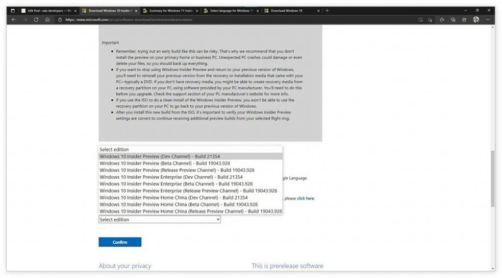 [技巧] 快速下载Windows 11 ISO镜像文件