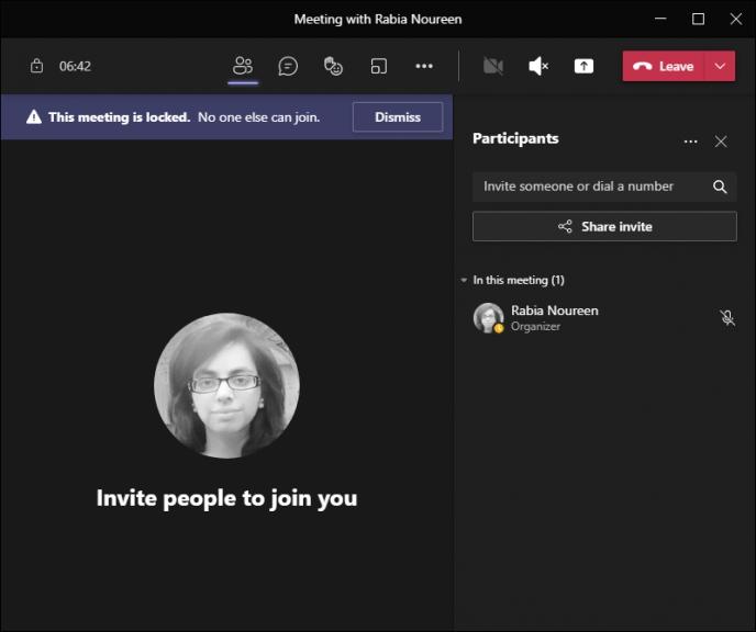 拦截迟到者:微软teams正式推出「会议锁定」功能