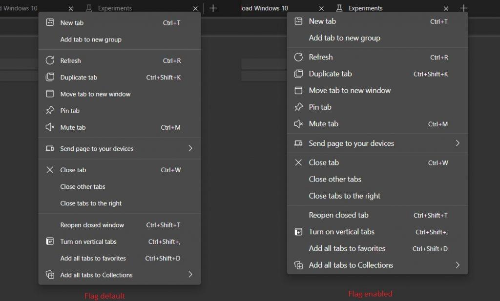 根据系统自动调整浏览器UI:新标志进入Edge Dev版