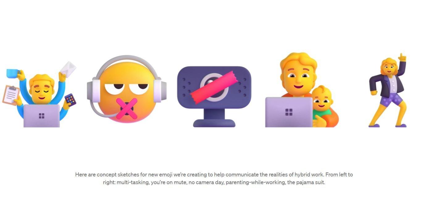 微软新表情符号