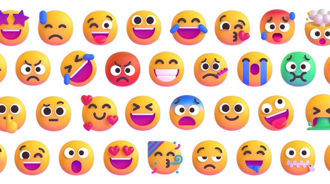 微软表情符号流利
