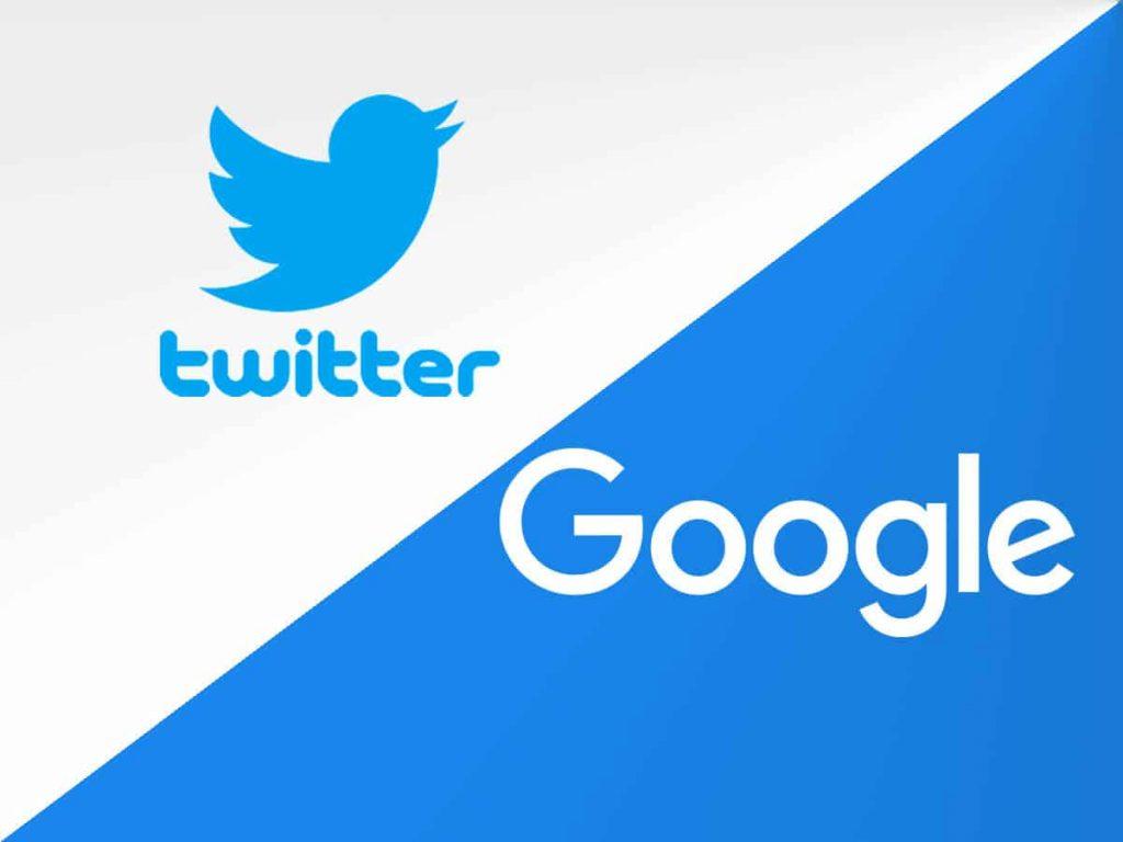 推特将允许用户使用Google帐户登录Twitter