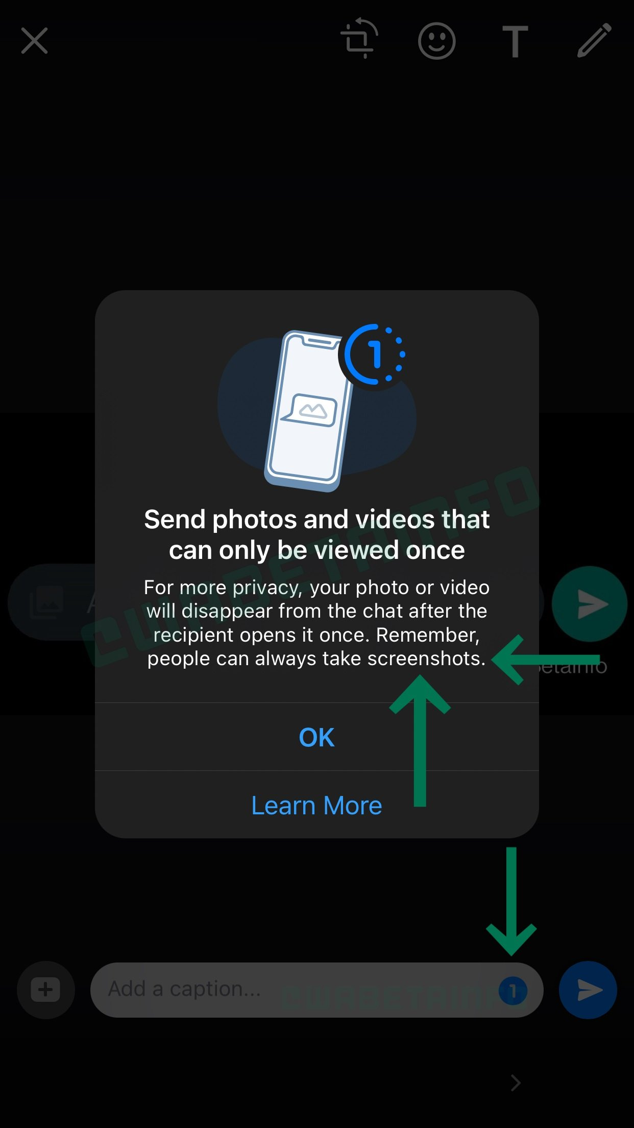 "WhatsApp为iOS用户测试""阅后即焚""功能"