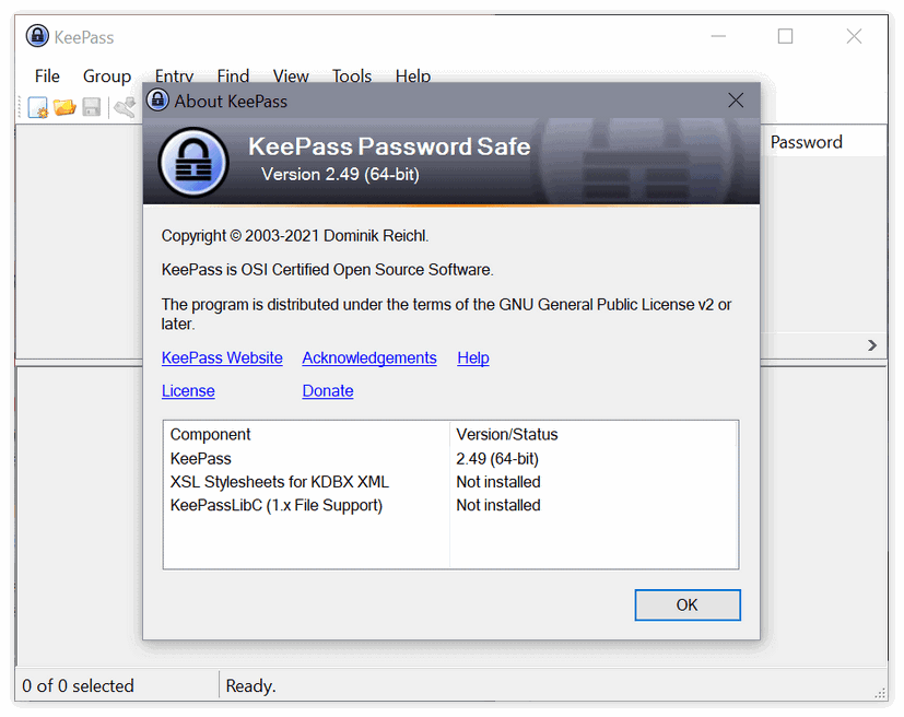 密码管理器KeePass 2.49发布:自动填充功能增强
