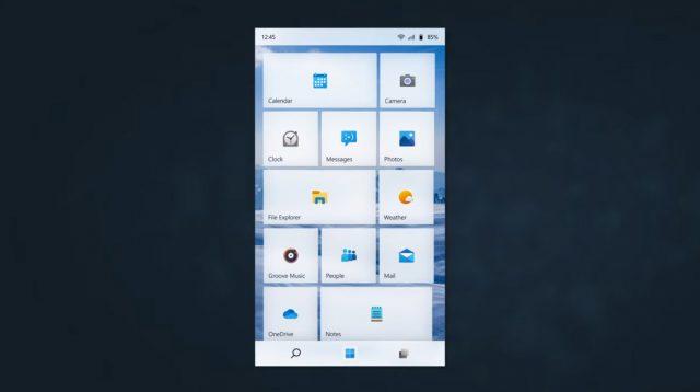 [组图] Windows 11 Mobile非官方概念设计来了