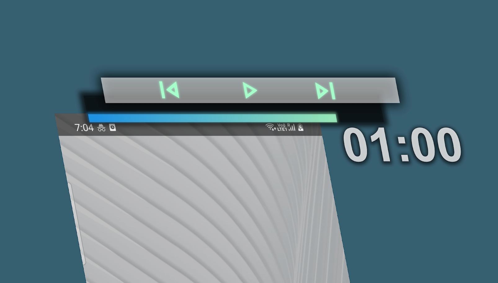 [APK] Media Bar:在安卓状态栏上控制音视频播放