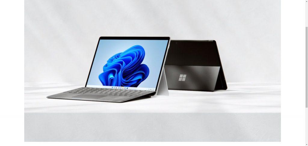 微软正式发布Surface Pro 8
