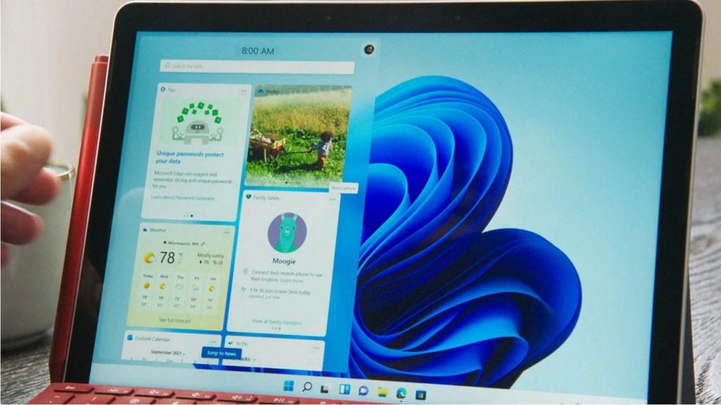 微软发布预算型二合一笔记本Surface Go 3