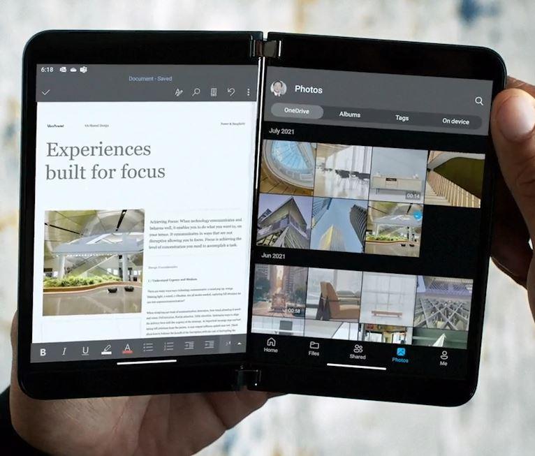微软发布全新一代折叠屏设备Surface Duo 2
