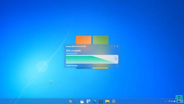 [概念] Windows 7 2021:极客设计师展示Win7风格Win11界面