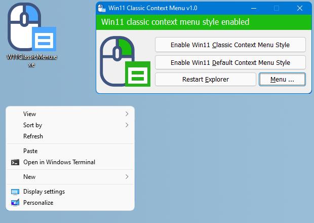 用这款小工具,为Windows 11找回完整版右键菜单